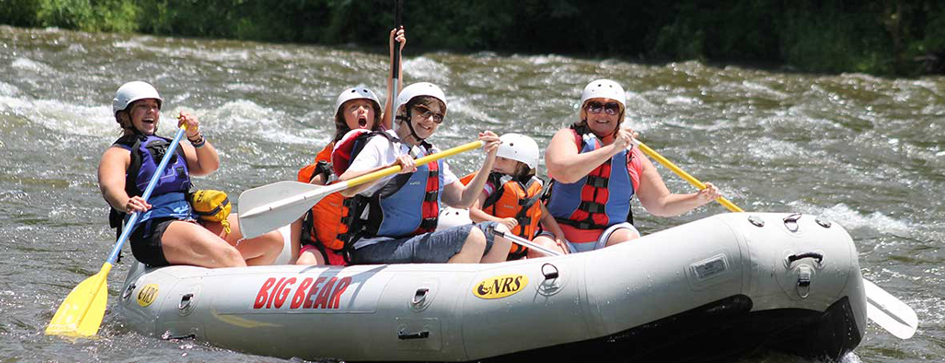 Big Bear Whitewater Rafting