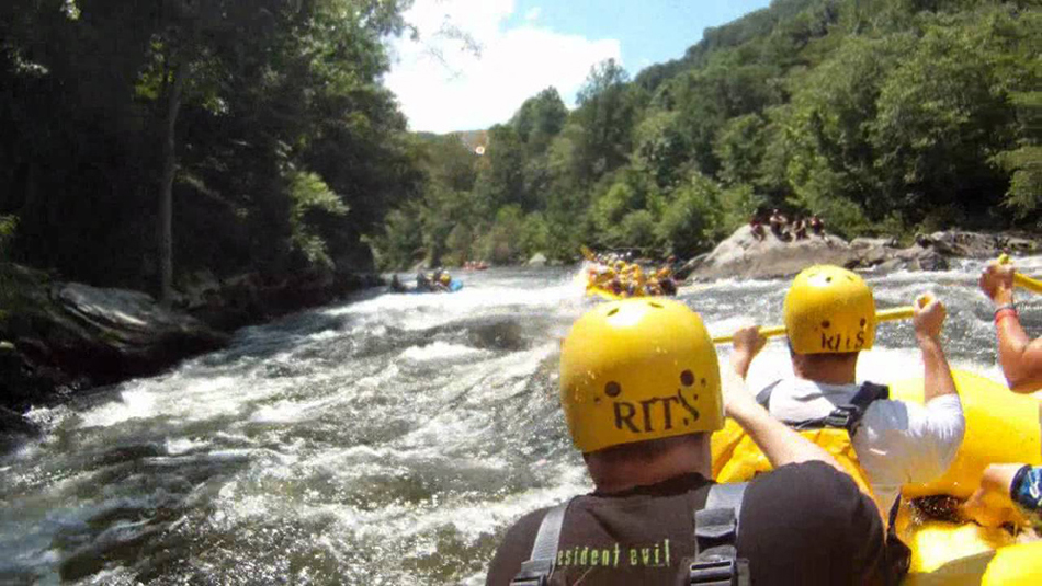 Upper Pigeon River Rafting